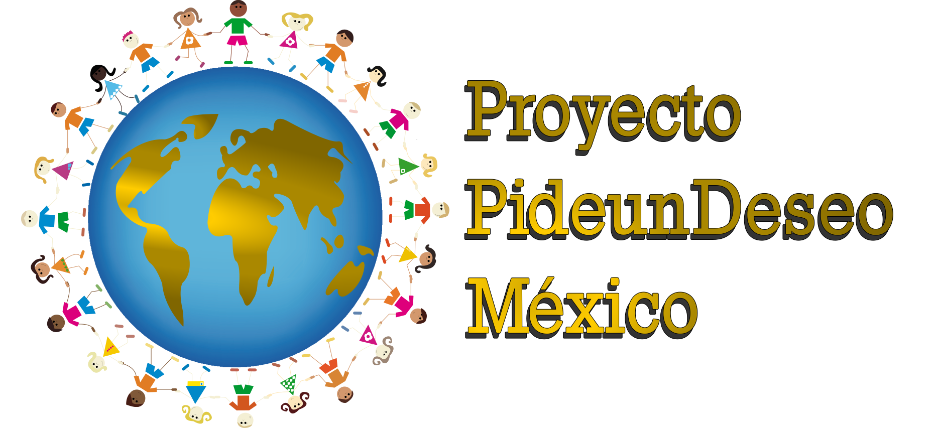 Logotipo de Proyecto Pide un Deseo México