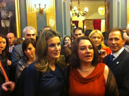 SAR la Princesa de Asturias con Celita